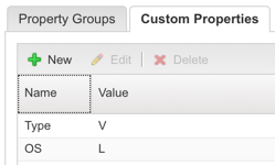 Define new custom properties on the machine object