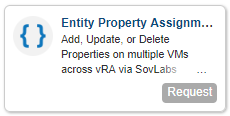 Entity Property Assignment